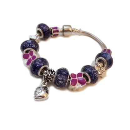 Lampwork Bracelet - Heart-2
