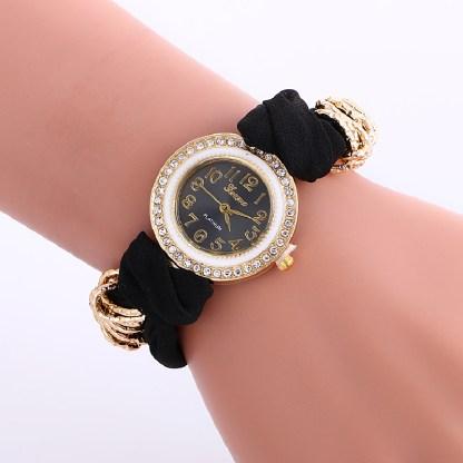 fancy-cloth-band-watch-black-2