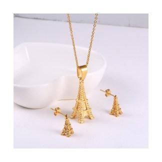 Eiffel Tower Jewerly Set