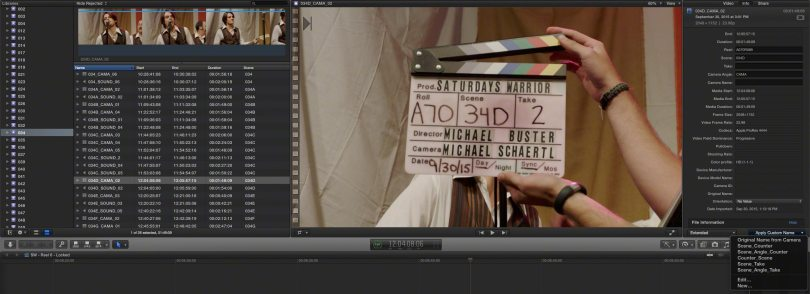 FCPX low budget feature workflow