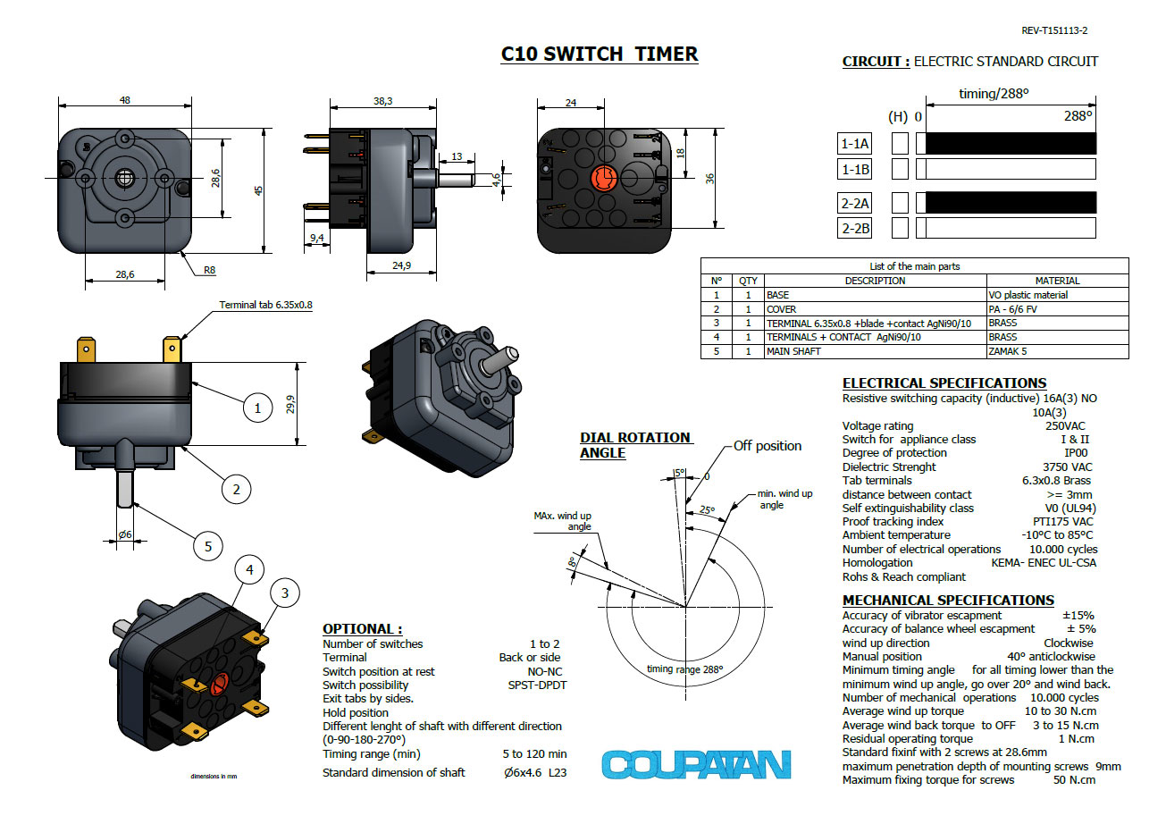 C10 Switch Timer