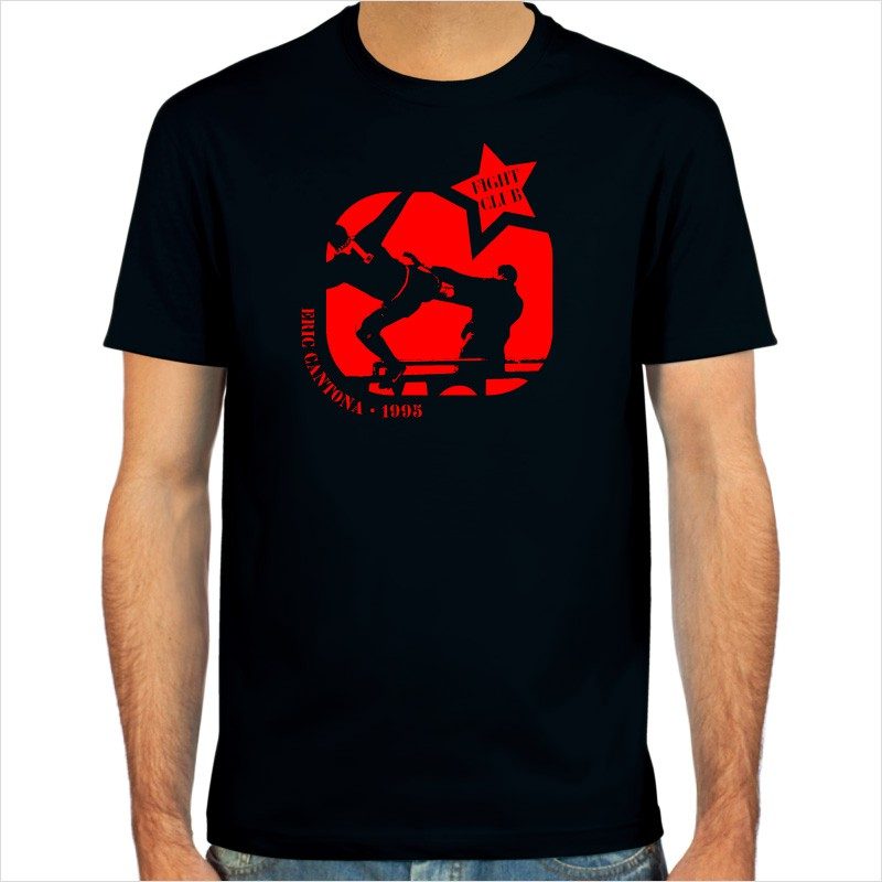 After wearing it, he was forced to live up to the number. Eric Cantona Kung Fu T Shirt From Spielraum