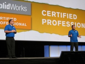 Talkin about CSWP at SolidWorks World 2011