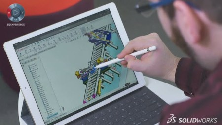Touch device mobile ready SOLIDWORKS