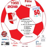 Le F. C. Toutes Aides fête ses 50 ans…