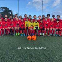 Catégorie U8-U9 Saison 2019-2020