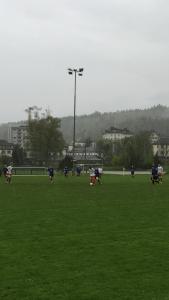 Die A2-Junioren bei ihrem klaren Sieg gegen FC Netstal.