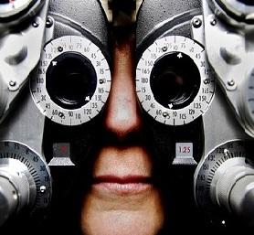 Checking eyes