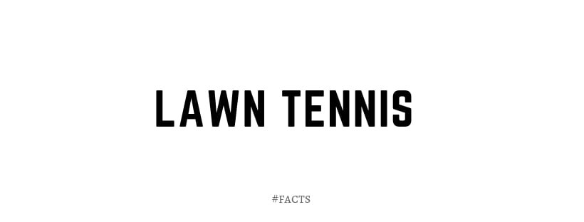 Lawn Tennis Game Information