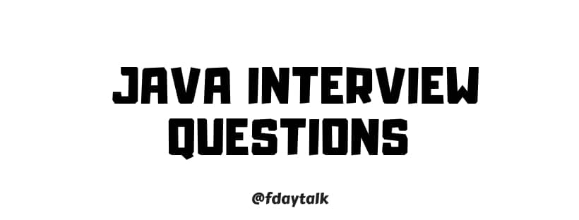 Java Interview Questions And Answers For Experienced Pdf