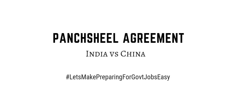 importance of Panchsheel Agreement