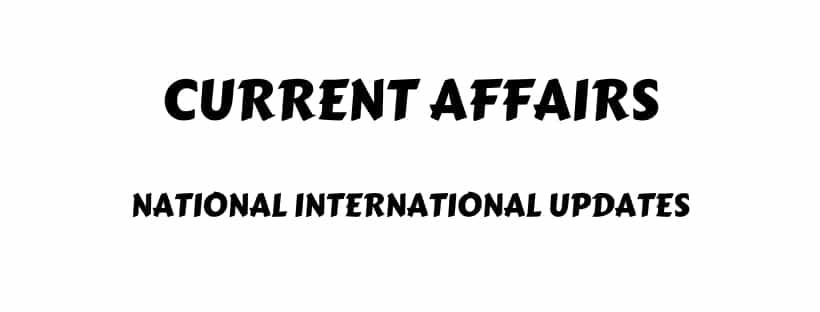Current Affairs SSC CGL