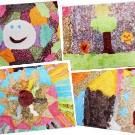 Kunstwerk 7 der Klasse 3b