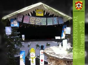 die schönste Hütte des Weihnachtsmarkts 2015!