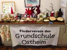 Bastelstand des Fördervereins der Grundschule Ostheim