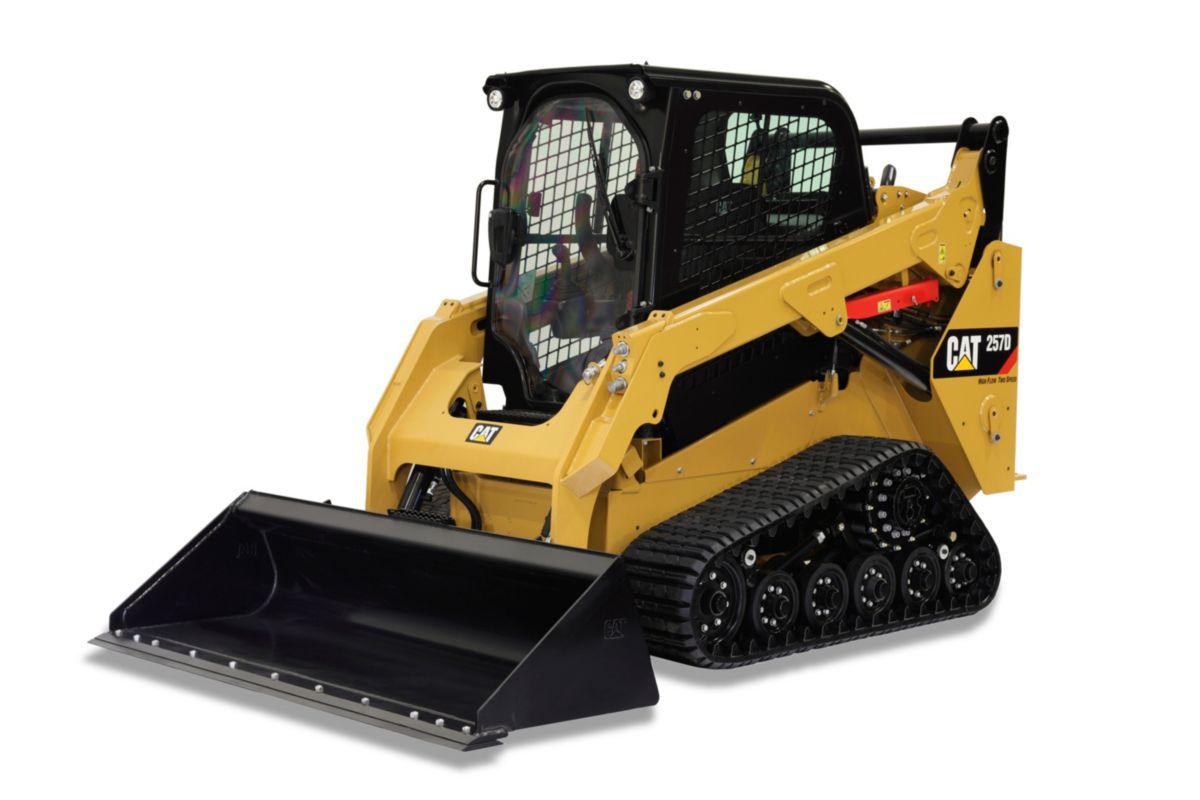 Cat 257b Multi Terrain Skid Loader