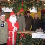 in FDP Ortsverband Fuldatal auf dem Weihnachtsmarkt