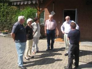 in Kommunale Politiker vor Ort: FDP informierte sich in der Kläranlage