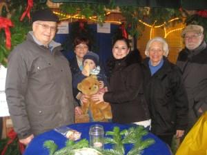 in Fuldataler Weihnachtsmarkt Am Backhaus – Auch die Liberalen waren wieder dabei.