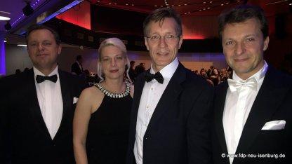 v.l.n.r.: Thilo Seipel, Susann Guber, Elvis Neß und Jörg Müller.