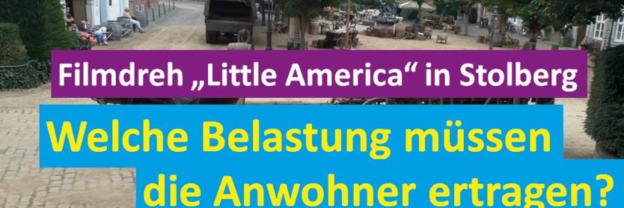 """Filmdreh """"Little America"""" in Stolberg"""