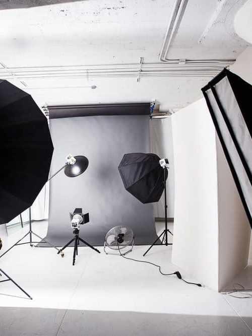 Photo Studio Equipment in LA Studios -