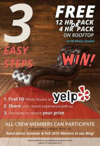 Win a 12 hr pack at FD!