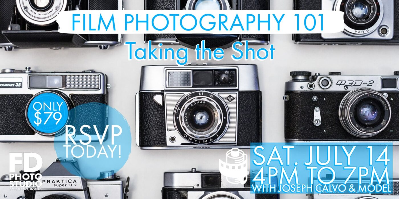 Film Photography 101 _ Taking the shot