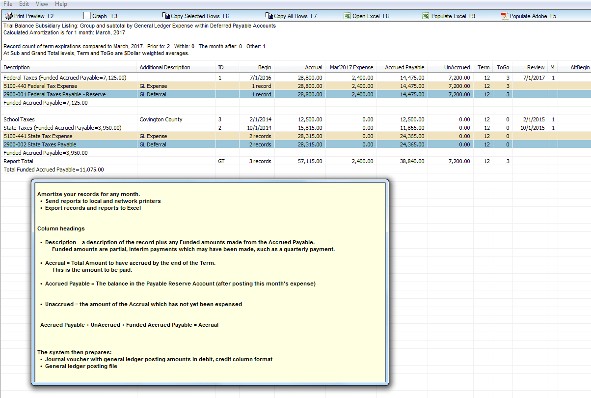 Excel Accrued Expenses