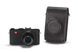 Leica X2 Black + leather case
