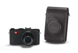 Leica X2 Black + leather case