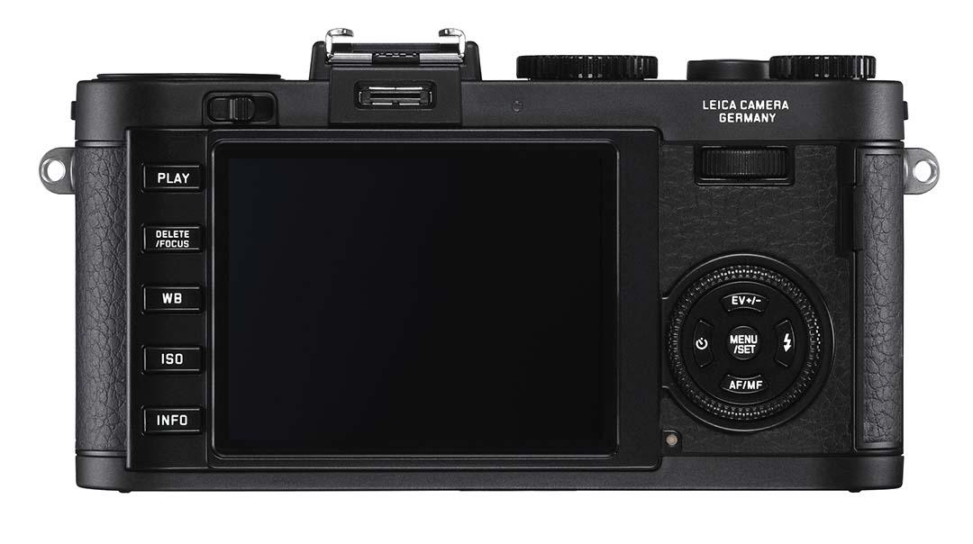 Leica X2 Black back