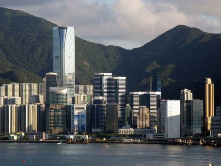 Shriro Hong Kong headquarters -- tallest building