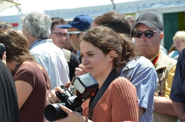 Pauline Maillet, official photographer