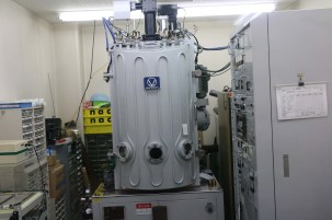 Lens coating machine