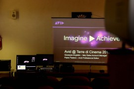 Avid presentation at Terre di Cinema 2013