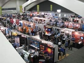 SPIE exhibit hall