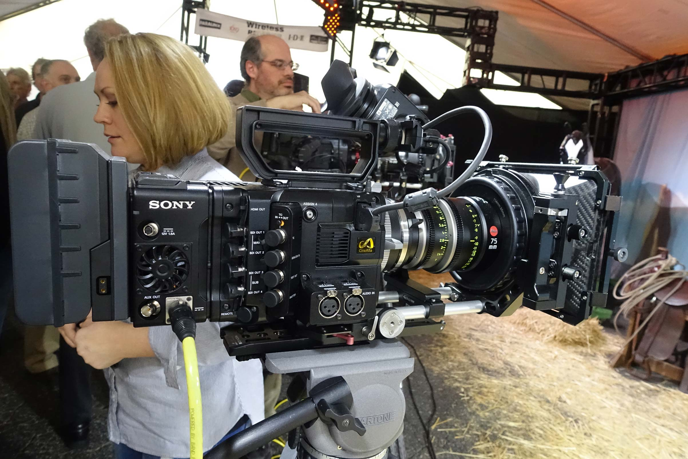 Sony F55 with RAW Recorder