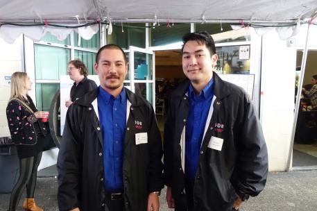 Zack Shannon and George Kusaba of IDX