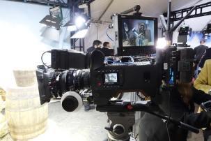 One of the first AJA CION Cameras