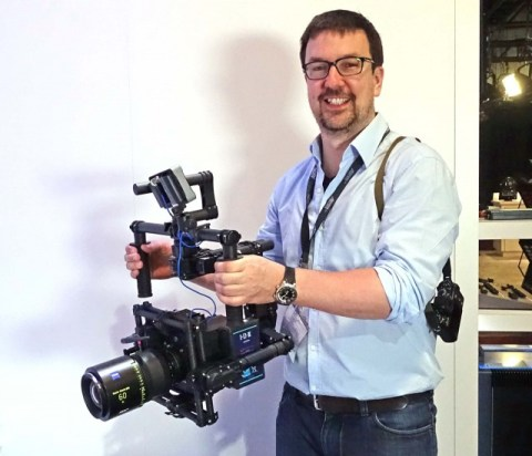 Michael Jonas, ARRI ALEXA Mini Product Manager