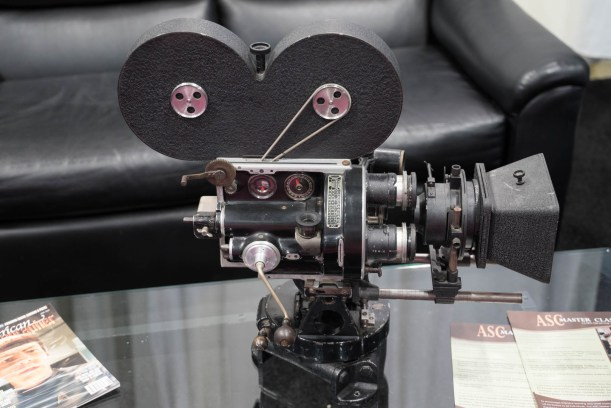 The ASC Booth with Historic 35mm Camera