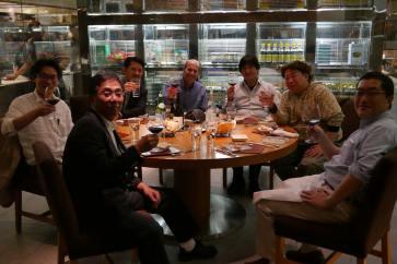 FDTimes Japan Meeting: NAC's Syuji Nagata, Yas Mitsuwa, Arato Ogura, JF, RAID's Maki Masayuki, KokiHifumi's Yasuo Okuyama, Angenieux's Yasu Mikami