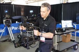 Barry Russo, VariCam with Extension Module