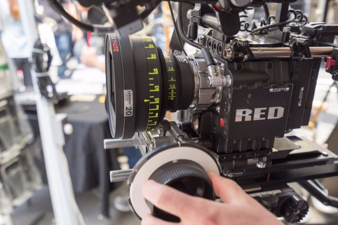 Hawk Anamorphic on RED