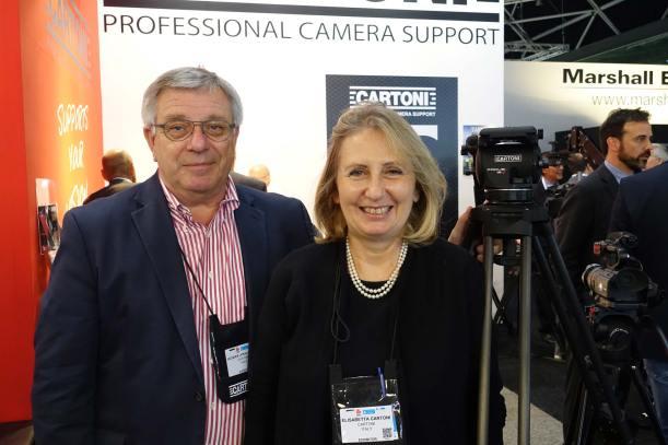 Jacques Lipkau Goyard and Elisabetta Cartoni