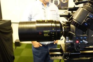 New Cooke 135mm anamorphic