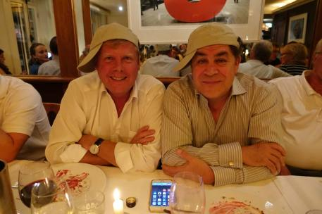 Andrew Steele and Jacques Delacoux at the Cooke Dinner