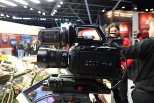 Blackmagic URSA Mini with Canon EF Mount