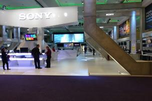 Sony IBC booth